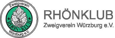 Rhönklub Zweigverein Würzburg e.V. Logo